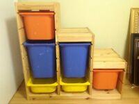 Ikea toy storage, $45