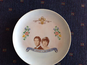 Prince Charles and Lady Diana Commemorative Wedding Plate 1981