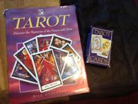 Tarot Cards and Book by A E Waite pack