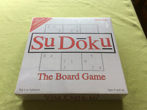 SEALED .. the game of SuDoku
