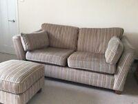 Sofa M&S Fenton 2 Seater + Footstool