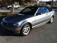 2004 BMW 325Ci CONVERTIBLE 5 SPEED MANUAL / CLEAN CAR-PROOF