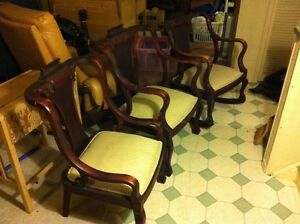 3 Antique chairs (ladies, gentlemens and rocking) Oakville / Halton Region Toronto (GTA) image 2