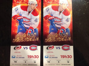 CANADIENS-section ROUGE-25 janvier