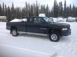 1999 Dodge Power Ram 2500 4x4 Pickup Truck
