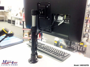 Viewmaster LCD Flat Panel Monitor Desk Mount