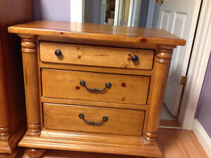 Great deal. Solid pine dresser and night table St. John's Newfoundland image 3