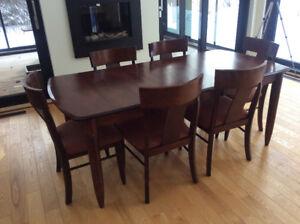 Ensemble de salle à manger CANADEL avec 8 chaises
