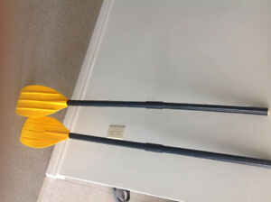 Paddles for dinghy or row boat