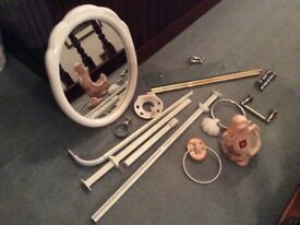 Selection of bathroom fittings