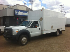 2011 FORD F-450 XLT 16FT CUBE 4X4