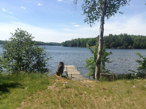 Cottage on Lake near Bancroft for rent