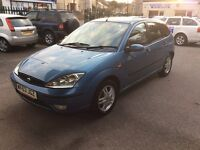 2003 Ford Focus 1.6 Zetec-1 owner-88,000-August 2017 mot-drives great-great value