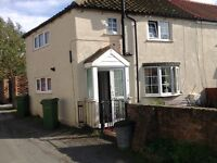 2 Bedroomed cottage with parking and large garden