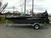 2015 PRINCECRAFT SPORT 172 with 115HP EFI 4S