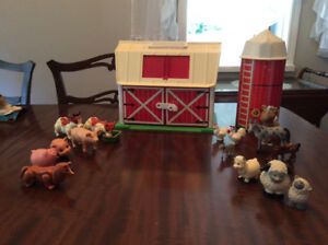 Fisher-Price......barn and silo
