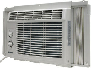 QUALITY DANBY AND GE 5000 BTU AIR CONDITIONERS -- AMAZING SURPLUS PRICES - Why pay more at big box stores?