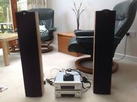 Denon Hi-Fi c/w Denon iPod Dock & KEF Q Series Speakers £300 for lot