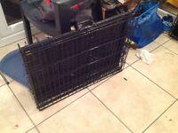 Double door pet / dog cage small £10