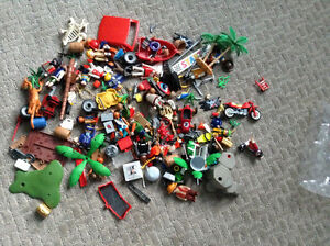 huge collection of Playmobil people and accessories for sale