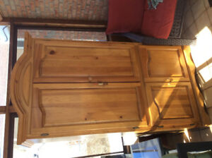 Solid Pine Armoure/tv unit