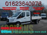 FORD TRANSIT 2.2TDCI T350 L3 DOUBLECAB TIPPER ONE STOP
