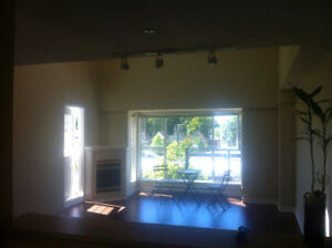 1 BR PENTHOUSE ($2400) - rare+classy 15' vaulted ceiling on Main