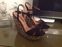 BRAND NEW New Look wedged sandals size 6