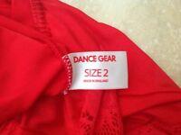 Red Dance Gear leotard