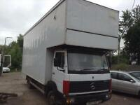 Mercedes-Benz 814 4X2 7.5 TONNE REMOVAL BOX