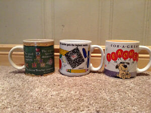 Set of 3 Teacher coffee mugs --NEW PRICE! Kitchener / Waterloo Kitchener Area image 1