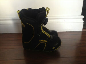 Kids Snowboarding Boots - Ride Norris - Size US 11.0K