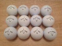 12 CALLAWAY WARBIRD GOLF BALLS