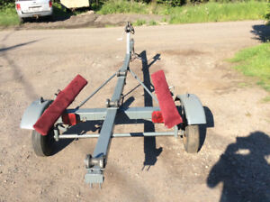 14ft boat trailer $430 tires and lights good new spare good cond