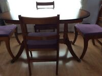 Dining Table and 4 Chairs (Still for Sale)
