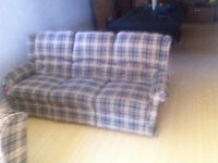 Reclining couches and chair