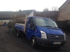 Ford transit extra long wheel base with tail lift