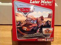 Jeu the cars, later mater