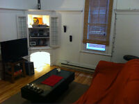 Belle chambre dans un 5 1/2 Meublée- CDN-HEC. Dès 1 juin