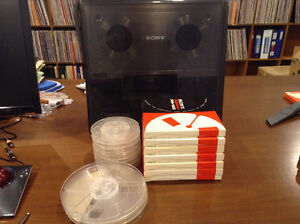 Sony Reel to Reel and accessories