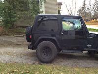 2004 Jeep Wrangler Coupe (2 door)