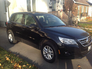 2010 Volkswagen Tiguan Turbocharged All Wheel Drive and trailer