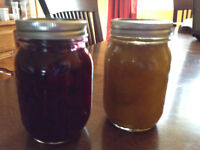 Beets Chow and Mustard pickles