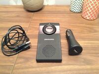 Plantronics K100 Visor Mounted Bluetooth In Car Speaker Phone