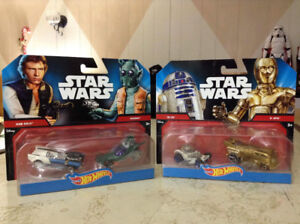 Star Wars Hot Wheels 2 pack of 4 cars.