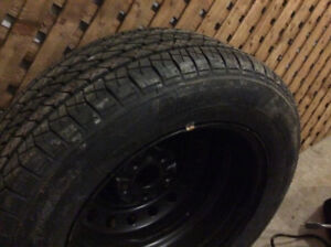 Set of 4 all season Cooper Tires + new full-size spare