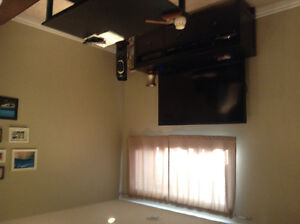 2 bedrooms furnished basement suite for rent in Stone Creek area