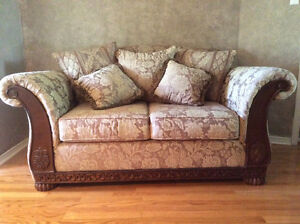Love seat & chair set