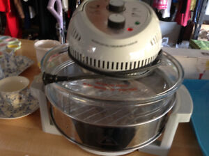 Big boss rapid wave halogen convection oven