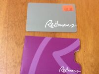 Two Reitman's Gift Cards